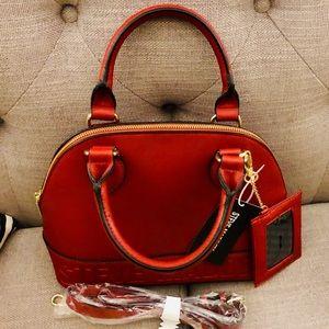 🌹✅S.Madden dressy double handles Satchel handbag.